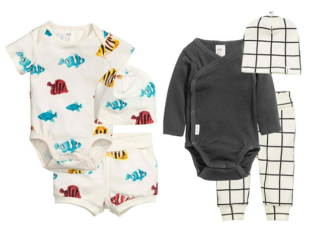 A gender neutral baby clothes haul from H&M