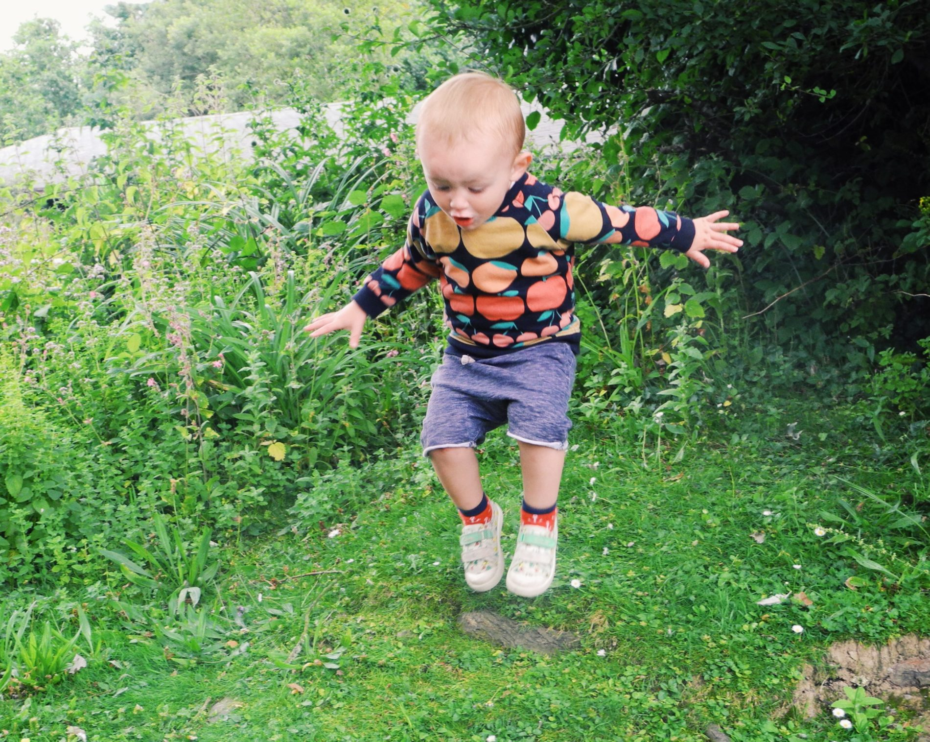What the boys wore: Feeling fruity with Hugo Loves Tiki and Gap Kids
