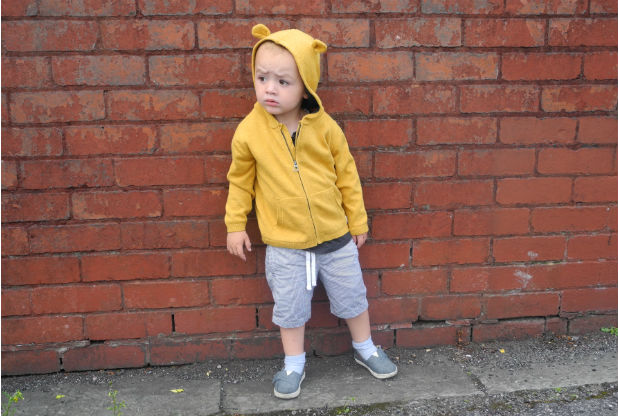 What the boys wore: Little bears from Zara and Next