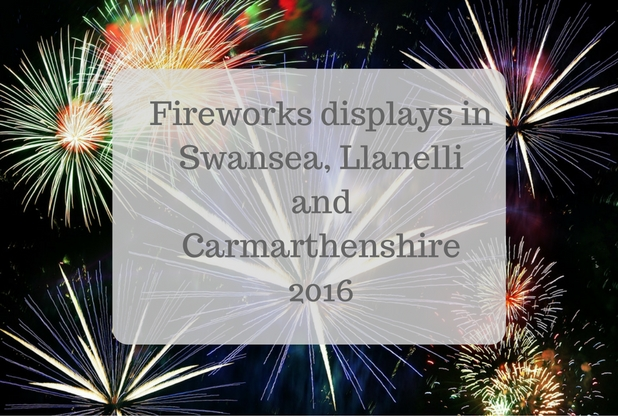 Fireworks displays in Swansea, Llanelli and Carmarthenshire 2016