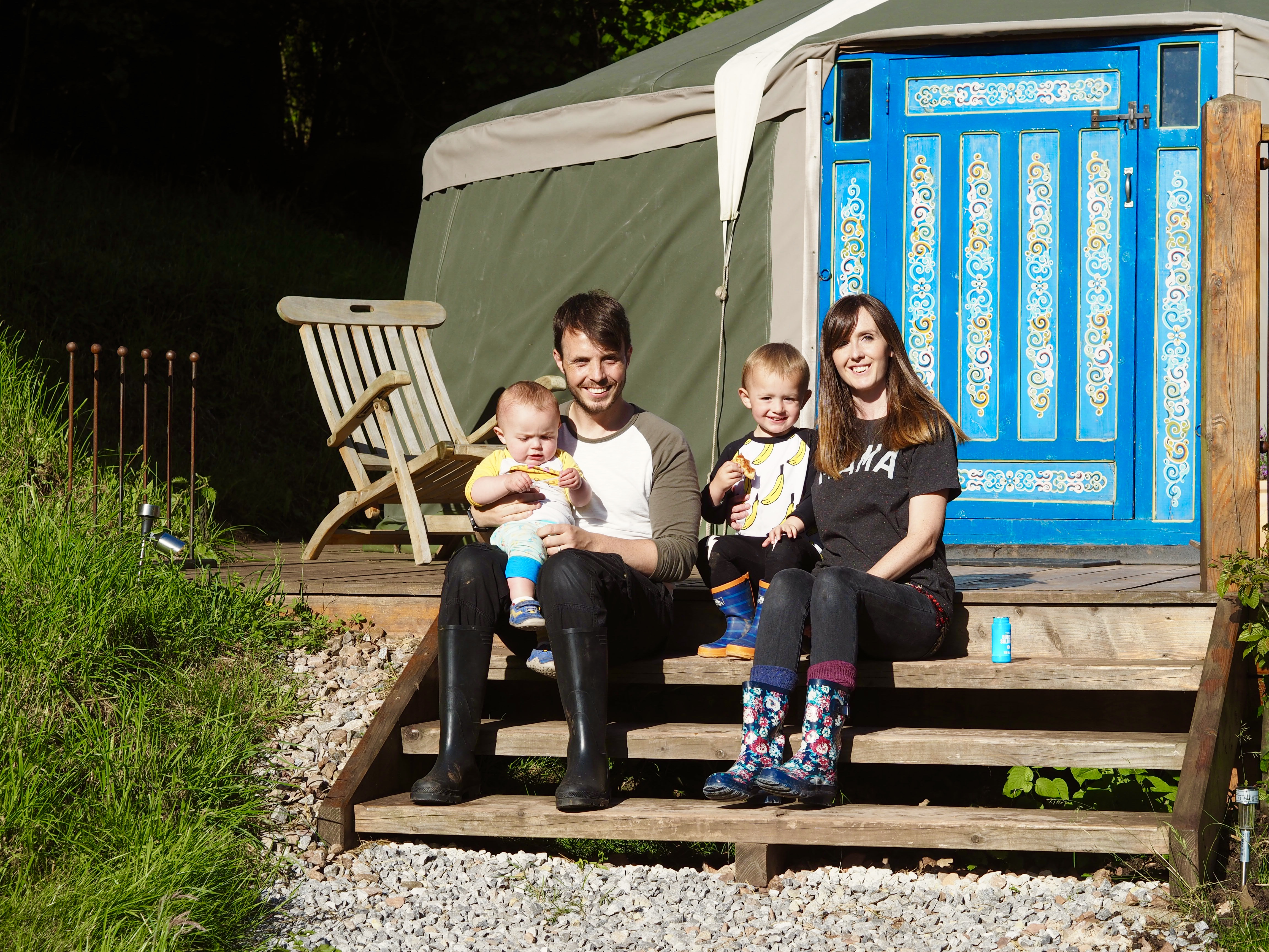 Glamping in Wales Hidden Valley Yurts Wye Valley
