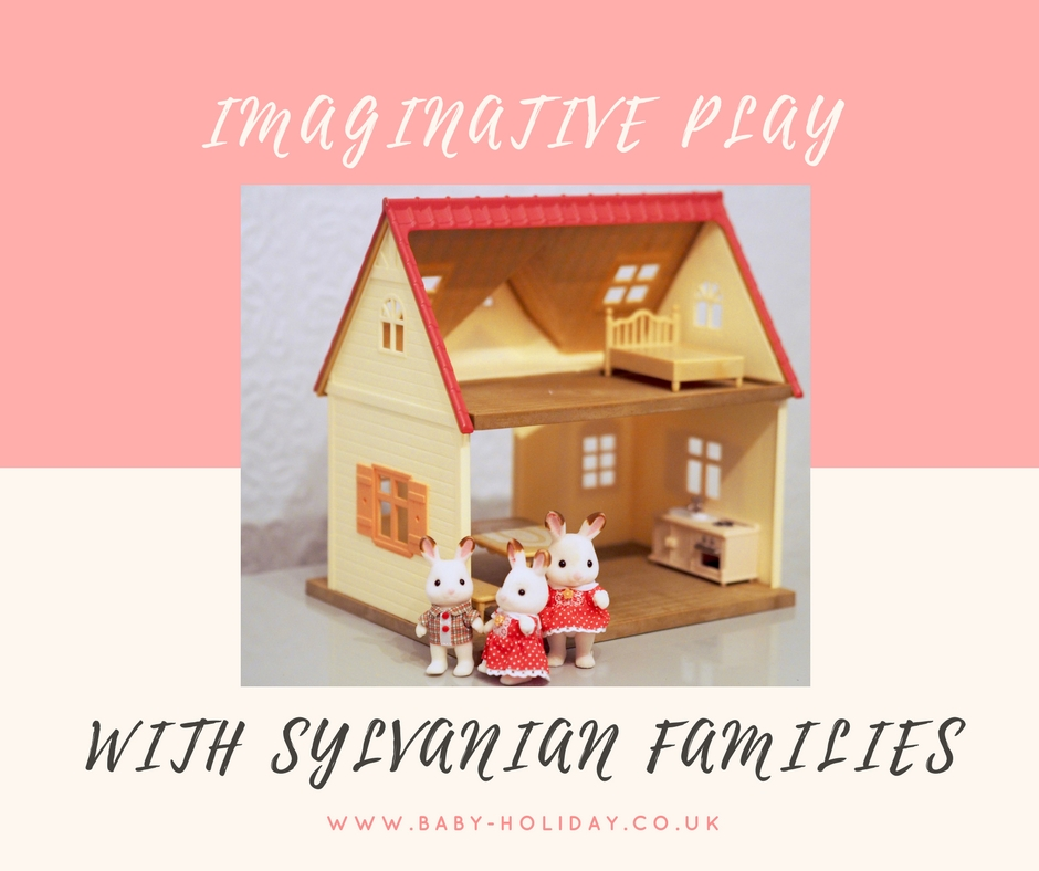 Imaginative play with Sylvanian Families Cosy Cottage