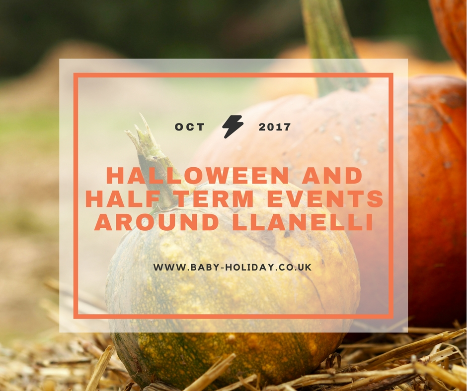 Halloween events in Llanelli and Carmarthenshire 2017
