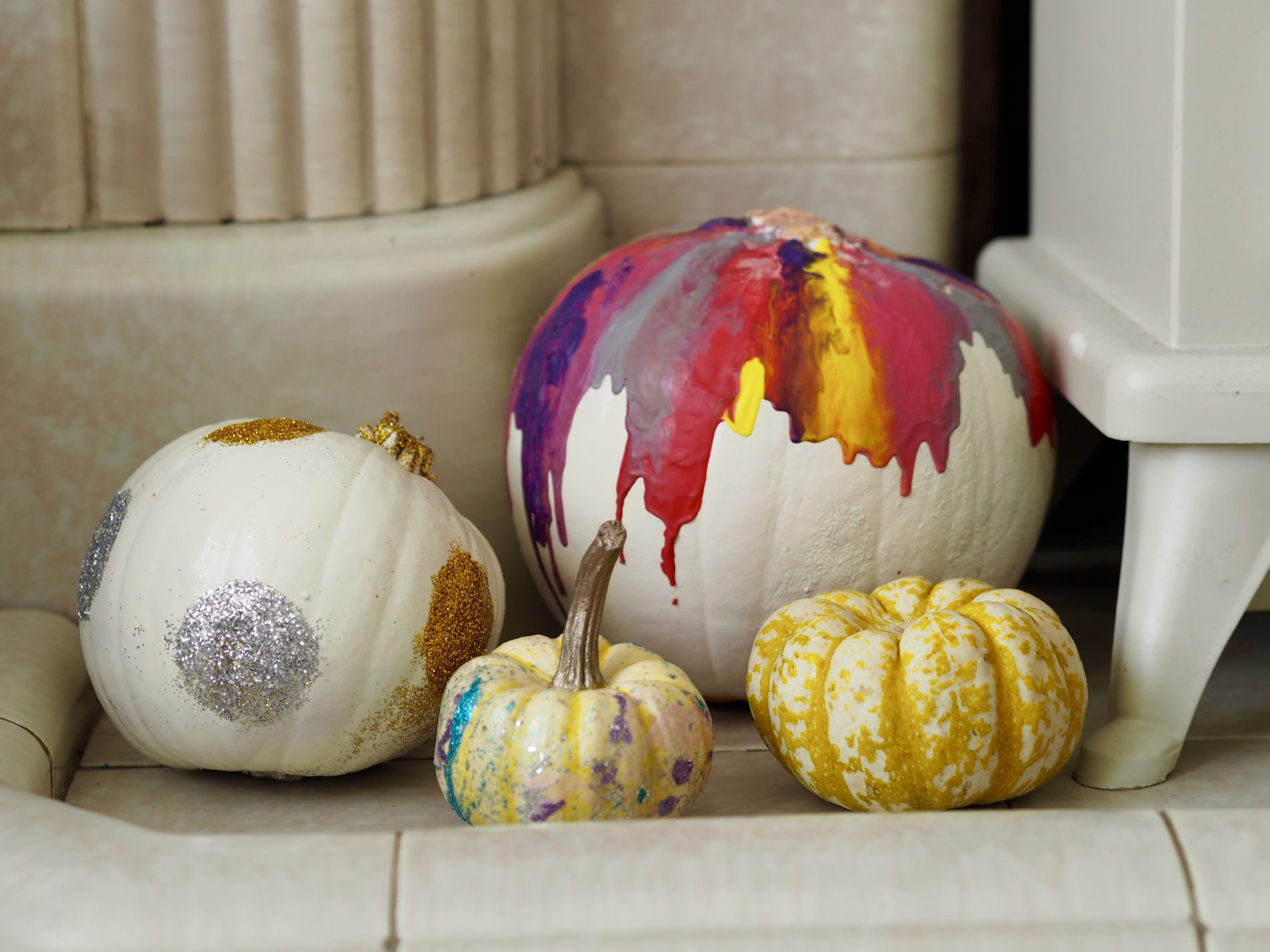 Easy no carve pumpkin decorating ideas