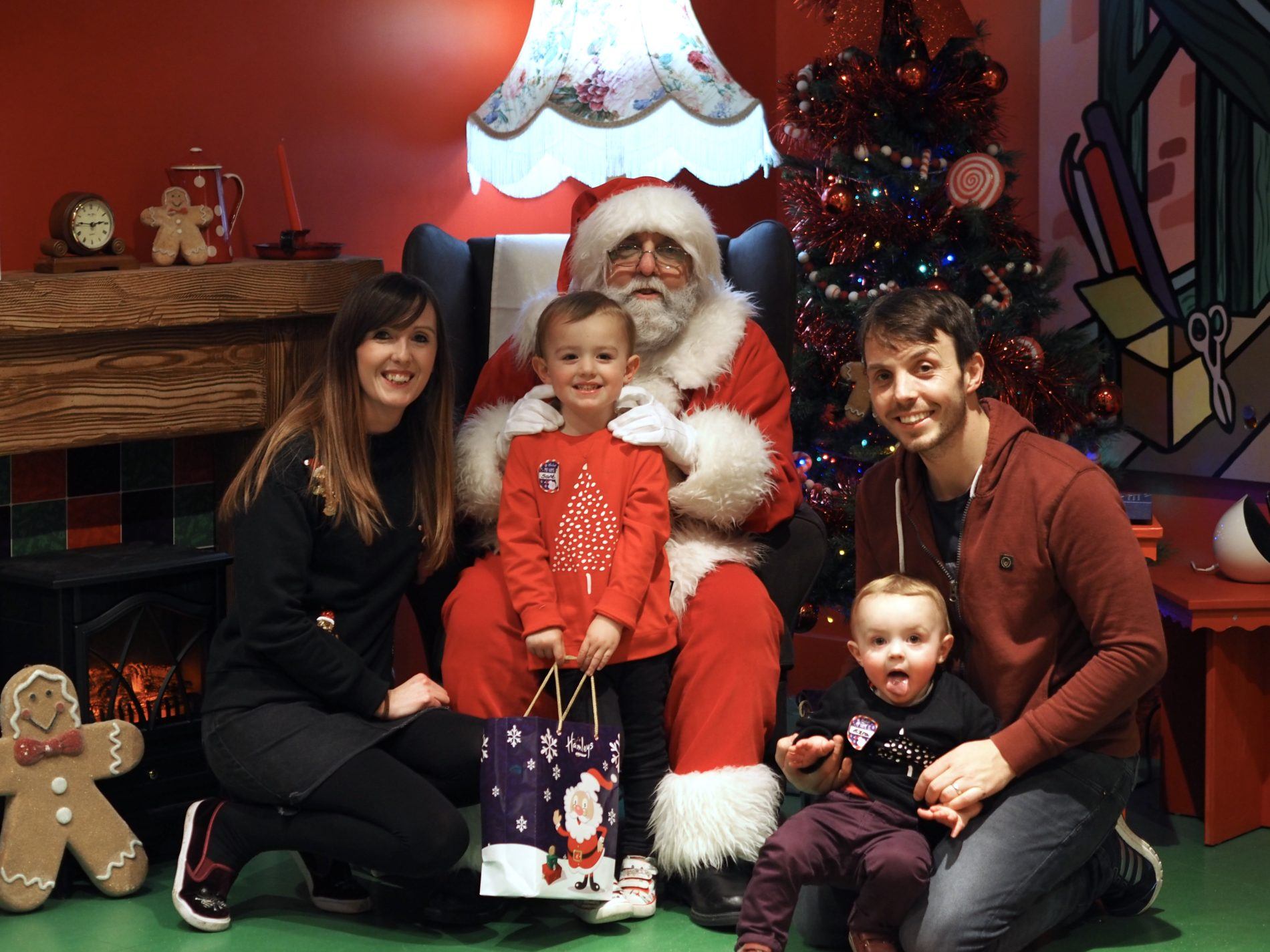 Father Christmas at Hamleys Cardiff - meeting the real deal