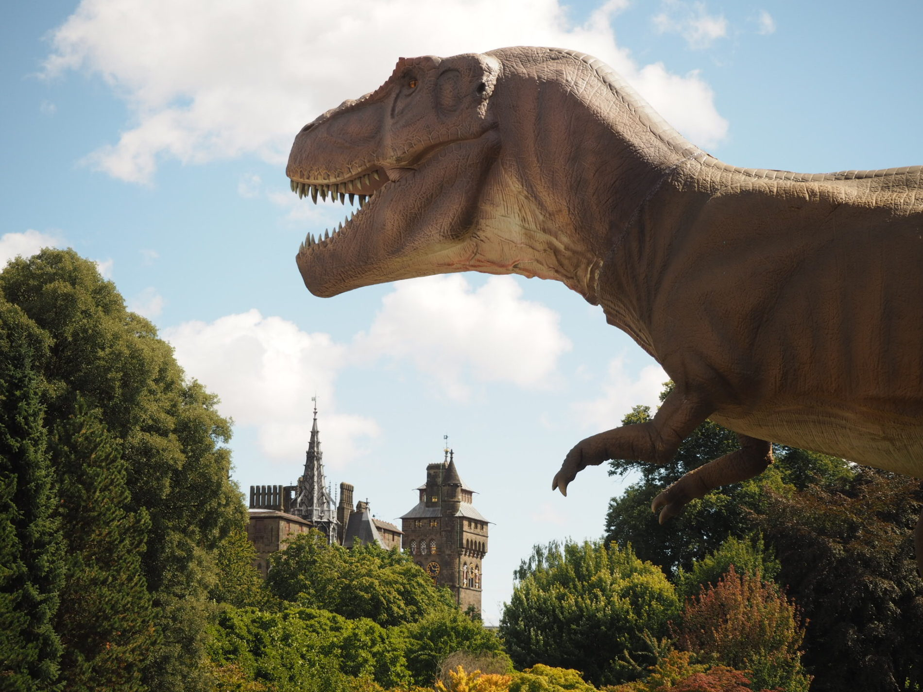 Jurassic Kingdom in Cardiff review: Dinosaurs at Bute Park