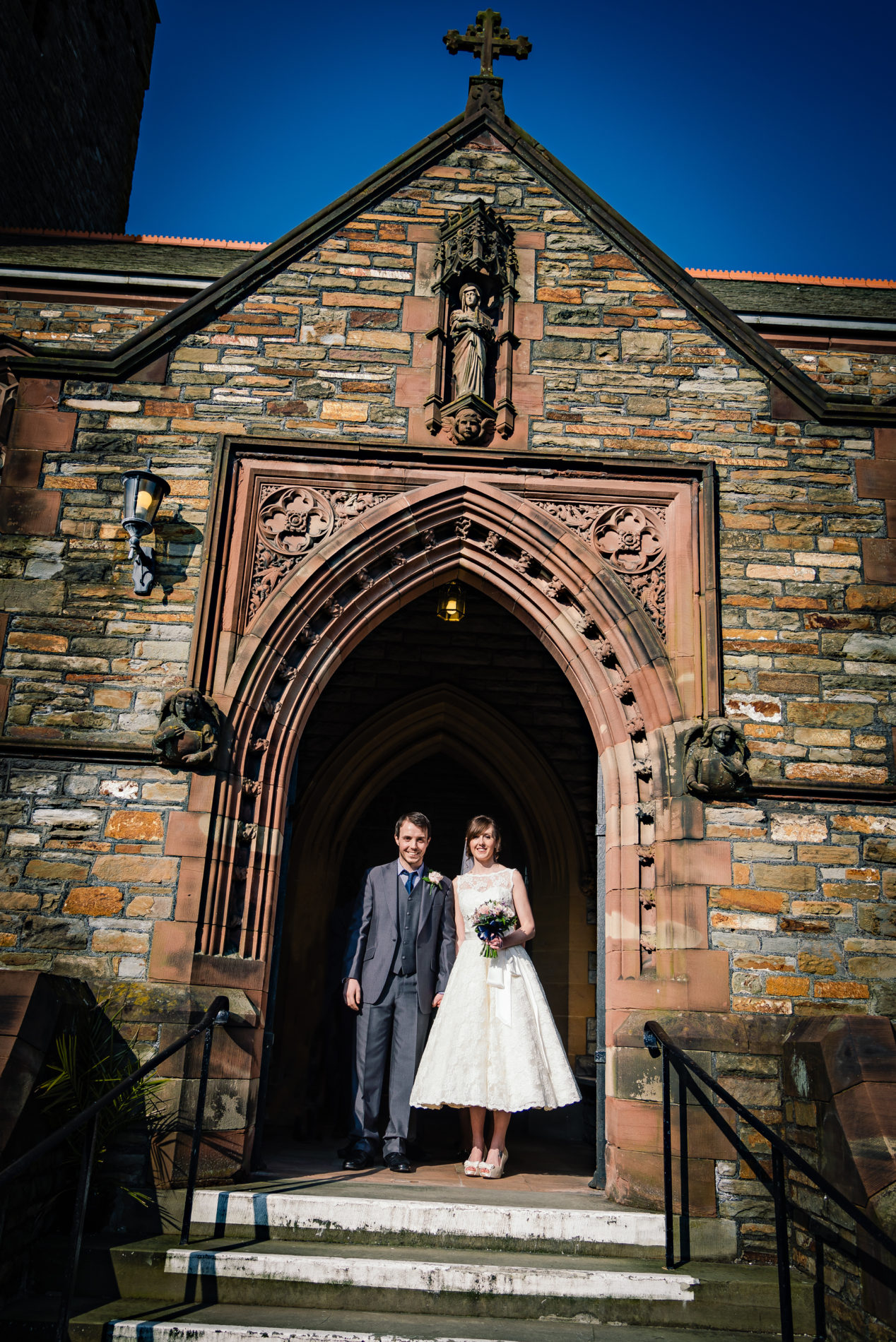 Wedding at Llanelli Parish Church 2013