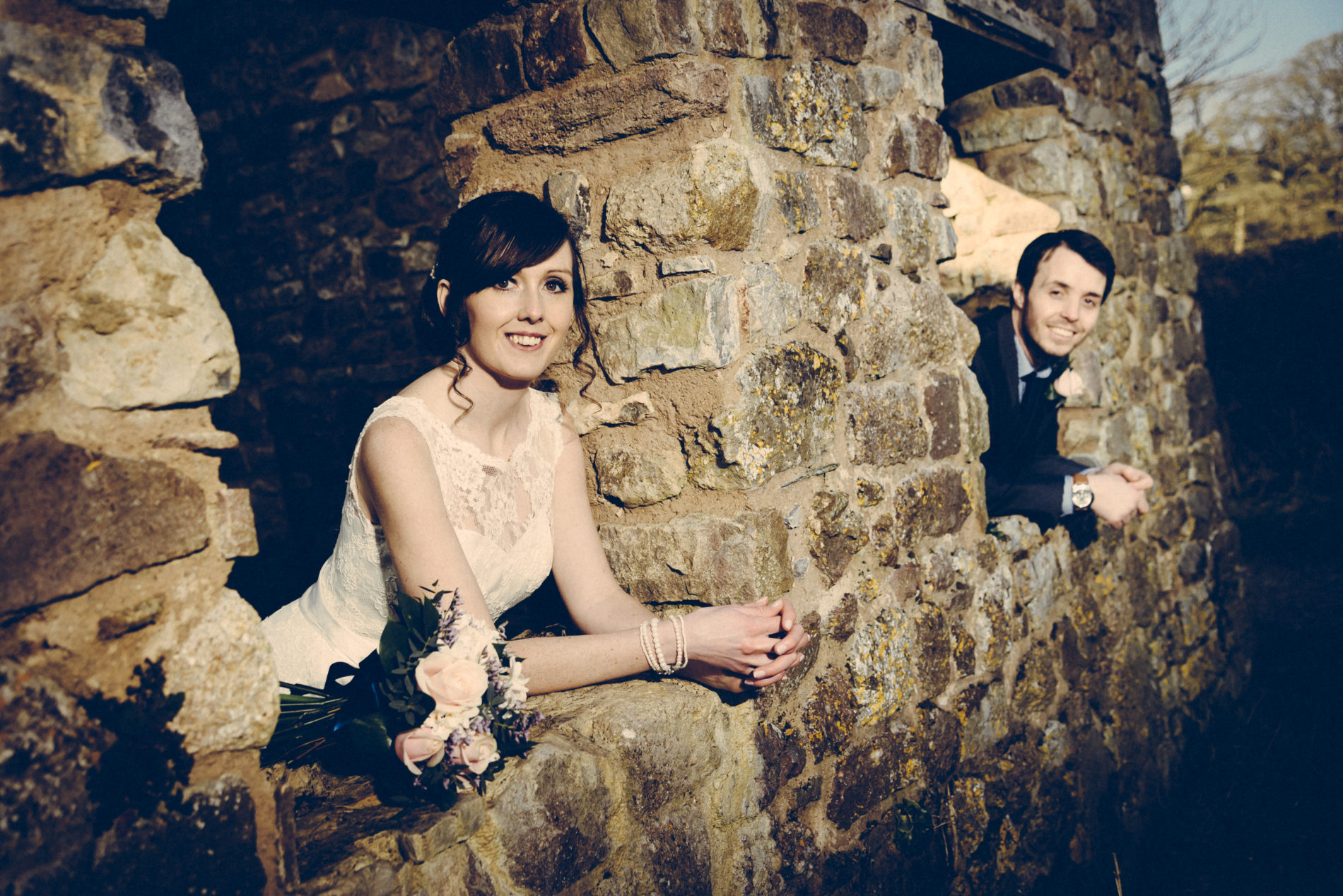 Wedding photo by Martin Phillips Photography Porthcawl