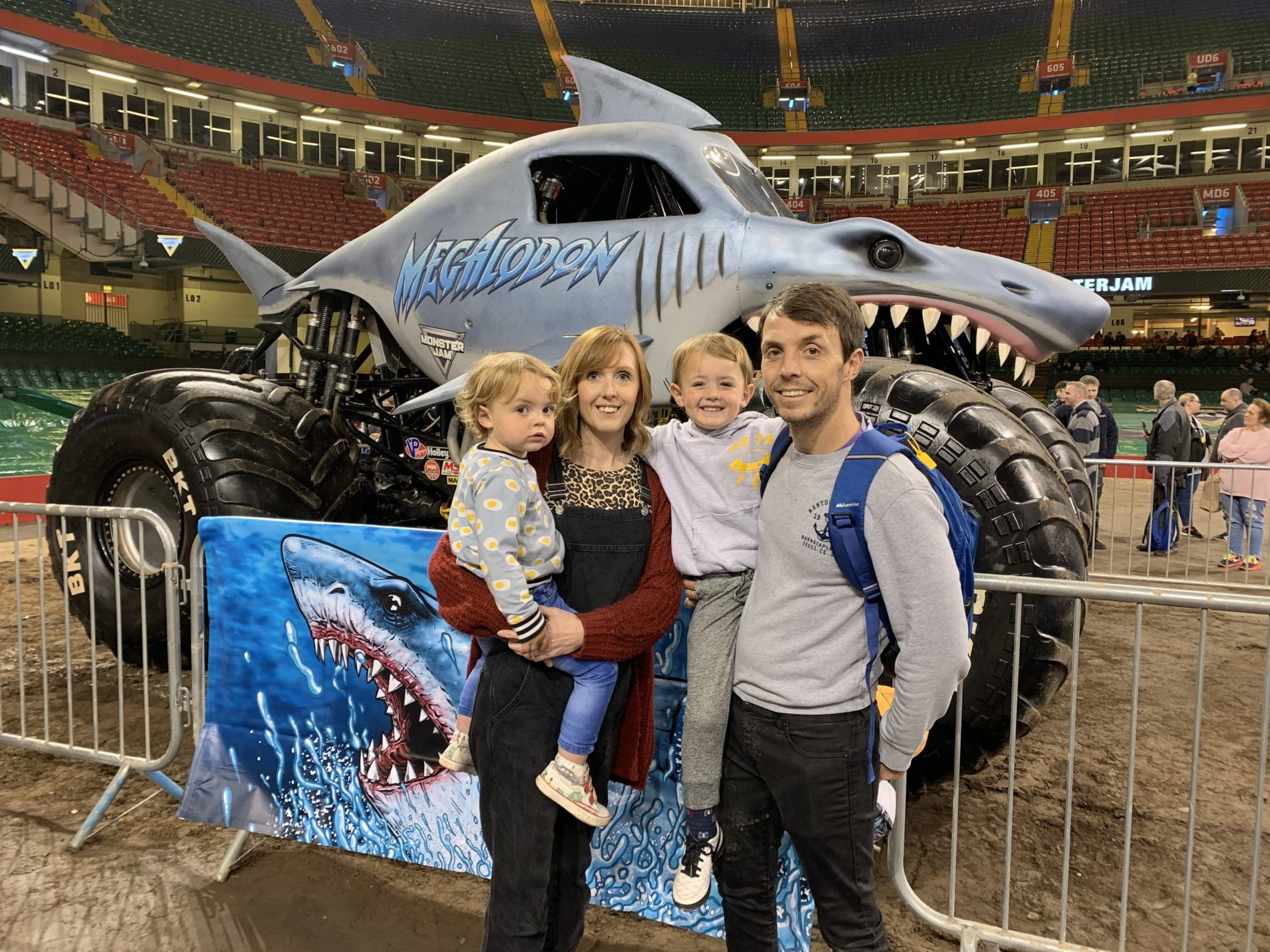 Monster Jam Cardiff 2019 show and Pit Party review